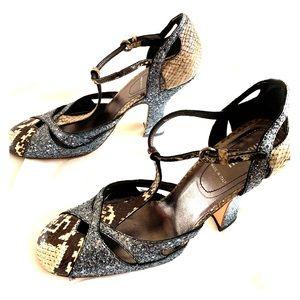 Fun and sparkly Miu Miu (Prada) shoes! Size 39/9.